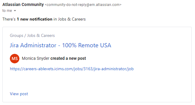 jira-administrator-job-advertiseement